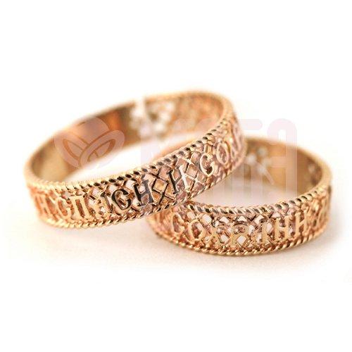 золотые кольца серьги