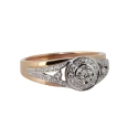 """Кольцо, золото, бриллианты. Ювелирная компания """"МАБЭ""""."""