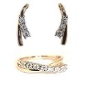 Золото комплект бриллианты Ювелирная компания МАБЭ