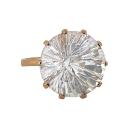 Золото кольцо  горный хрусталь  Ювелирная компания МАБЭ