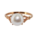 Золото кольцо  жемчуг  Ювелирная компания МАБЭ