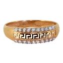 Золото кольцо   фианиты  Ювелирная компания МАБЭ