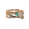 Золото кольцо   изумруды, бриллианты  Ювелирная компания МАБЭ