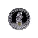 Медаль - символ 2018 года, серебро. Ювелирная компания