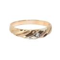 Кольцо  золото,  фианит.  Ювелирная компания