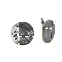 Серьги, серебро, позолоченное серебро. Ювелирная компания