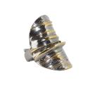 Кольцо, серебро с позолотой. Ювелирная компания