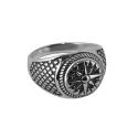 Перстень, черненое серебро. Ювелирная компания