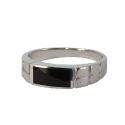 Перстень, серебро, оникс.  Ювелирная компания
