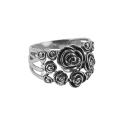 Кольцо, черненое серебро. Ювелирная компания