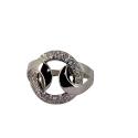 Кольцо, серебро,   фианиты.  Ювелирная компания