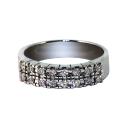 Кольцо,  белое золото, бриллианты.  Ювелирная компания