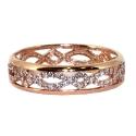 Золото кольцо  фианиты.  Ювелирная компания МАБЭ