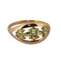 Кольцо, золото, хризолит. Ювелирная компания