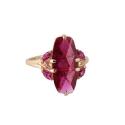 Кольцо, золото, корунд рубиновый. Ювелирная компания