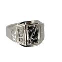 Серебро  перстень с фианитами. Ювелирная компания