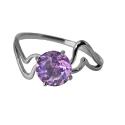 Серебро кольцо аметист. Ювелирная компания