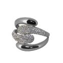 Серебро кольцо  фианиты. Ювелирная компания