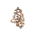 Кольцо, позолоченное серебро. Ювелирная компания