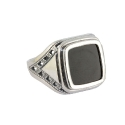 Перстень серебро, оникс. Ювелирная компания