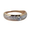 Кольцо, золото, бриллианты. Ювелирная компания