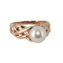 Золото  кольцо  жемчуг. Ювелирная компания