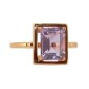 Кольцо, золото, аметист.  Ювелирная компания