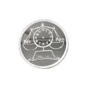 Оборотная сторона медальки  серебро.  Ювелирная компания