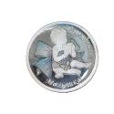 Медалька  серебро, эмаль.  Ювелирная компания