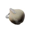 Кольцо  серебро, леписток Архидей в эмали, фианиты.  Ювелирная компания