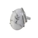 Кольцо  серебро,  графический пегматит.  Ювелирная компания