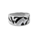 Кольцо, серебро, эмаль, фианиты. Ювелирная компания