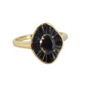 Кольцо, золото, сапфиры. Ювелирная компания