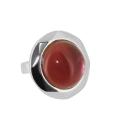 Кольцо,  серебро, берилловый обсидиан.  Ювелирная компания
