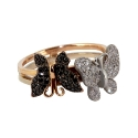 Кольцо, золото, фианиты.  Ювелирная компания