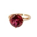 Кольцо, золото,  рубин.  Ювелирная компания