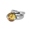 Кольцо,  серебро, эмаль.  Ювелирная компания