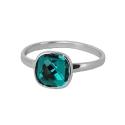 Кольцо,  серебро, кристаллы Сваровски.  Ювелирная компания