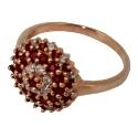 Золото кольцо рубины бриллианты ювелирная компания МАБЭ