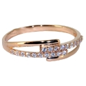 золото кольцо фианиты дорожка Ювелирная компания МАБЭ